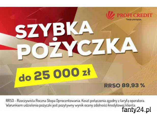 Pożyczka do 25.000 bez BIK, BIG, KRD, ERIF